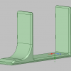 PSVRのプロセッサーユニット用縦置きスタンド(STLファイル)